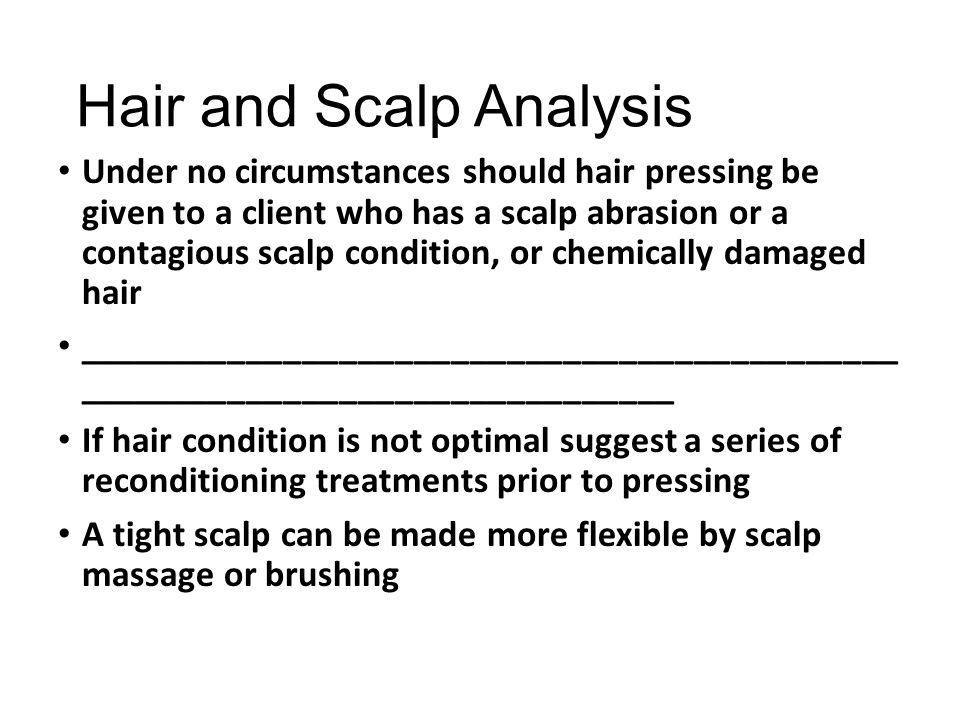 Hair and Scalp Analysis
