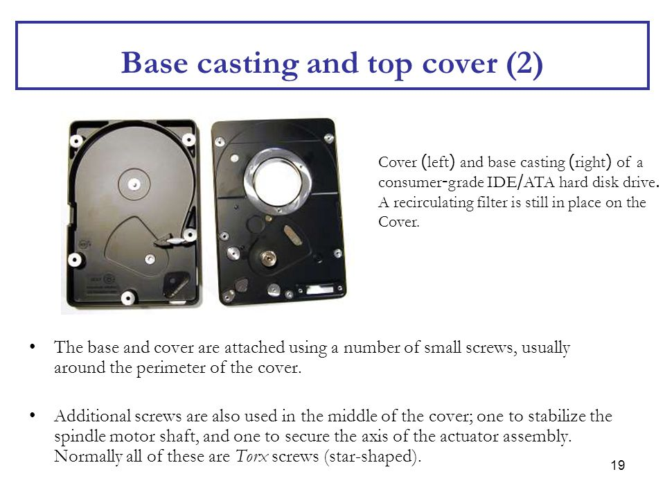 Base casting and top cover (2)