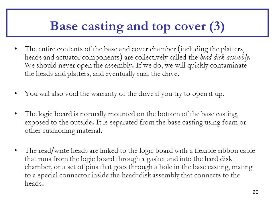 Base casting and top cover (3)