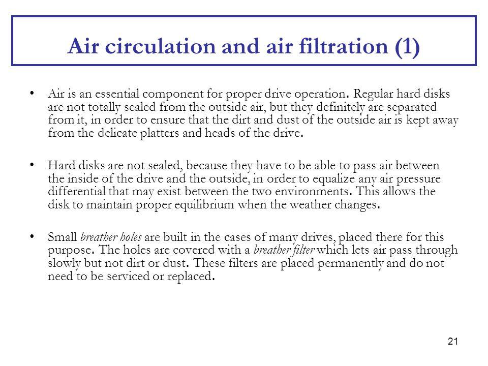 Air circulation and air filtration (1)