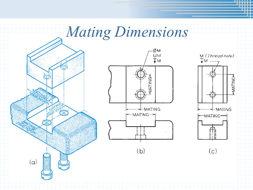 Mating Dimensions