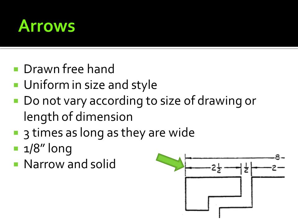 Arrows Drawn free hand Uniform in size and style