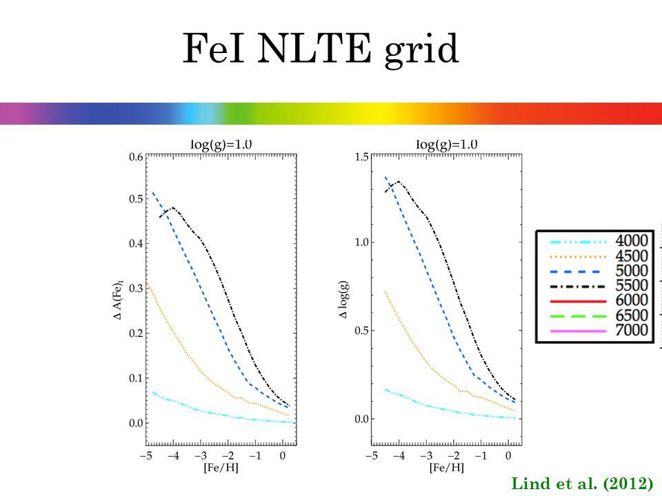 FeI NLTE grid Lind et al. (2012)