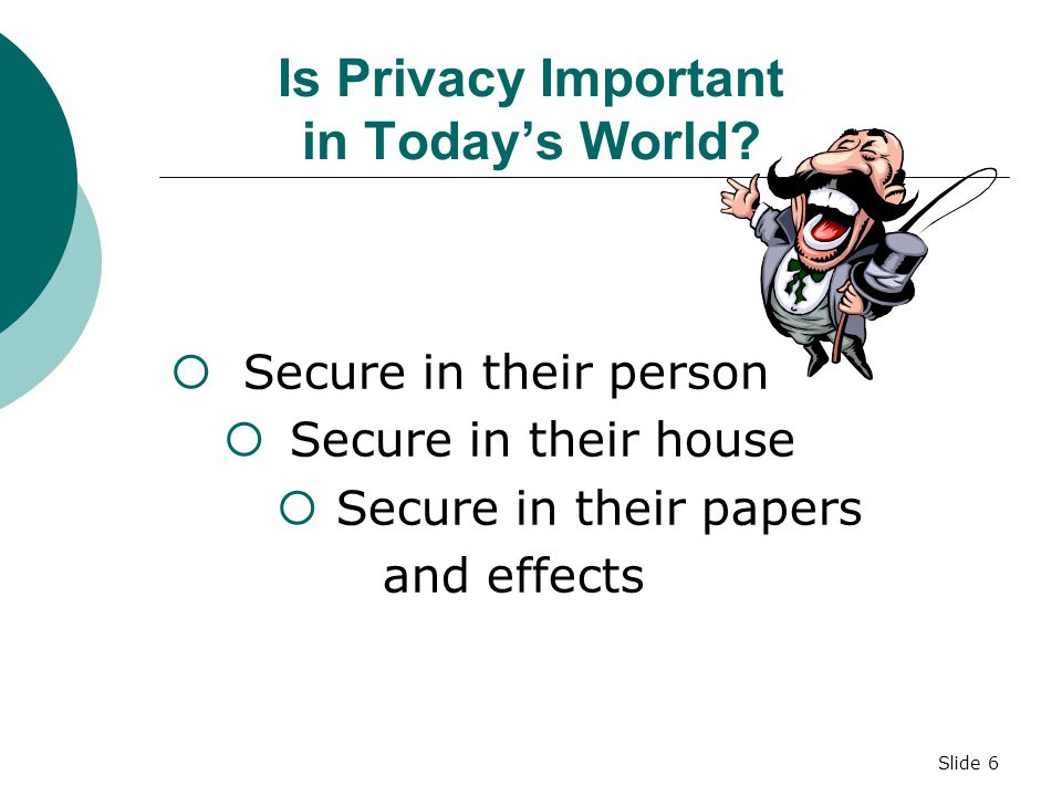 Is Privacy Important in Today's World