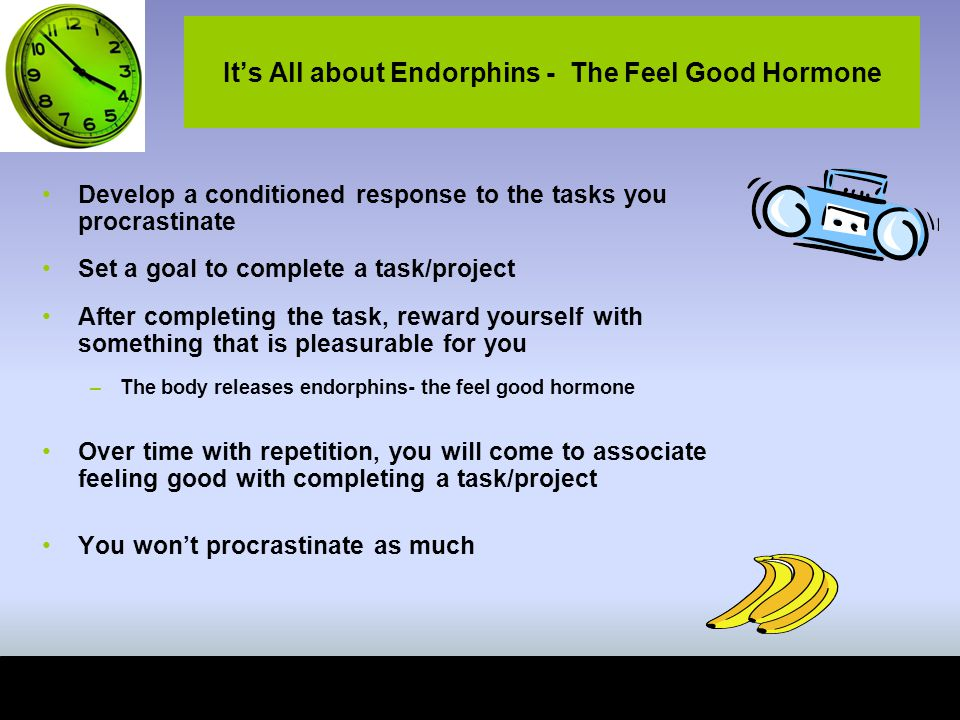 It's All about Endorphins - The Feel Good Hormone
