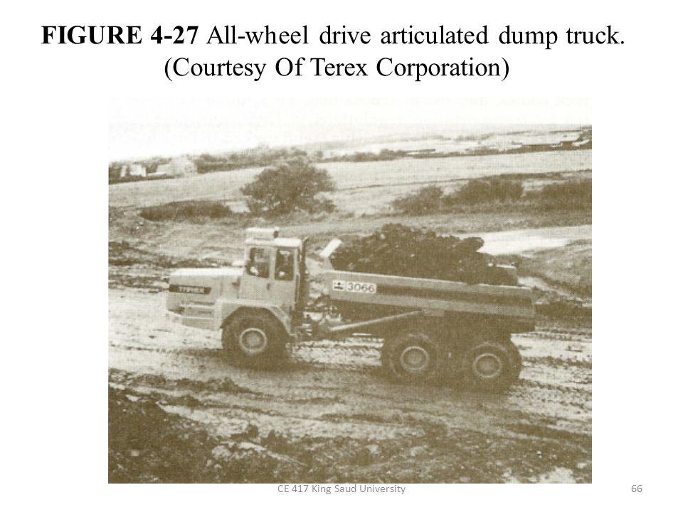 FIGURE 4-27 All-wheel drive articulated dump truck.