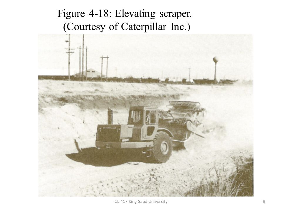Figure 4-18: Elevating scraper. (Courtesy of Caterpillar Inc.)
