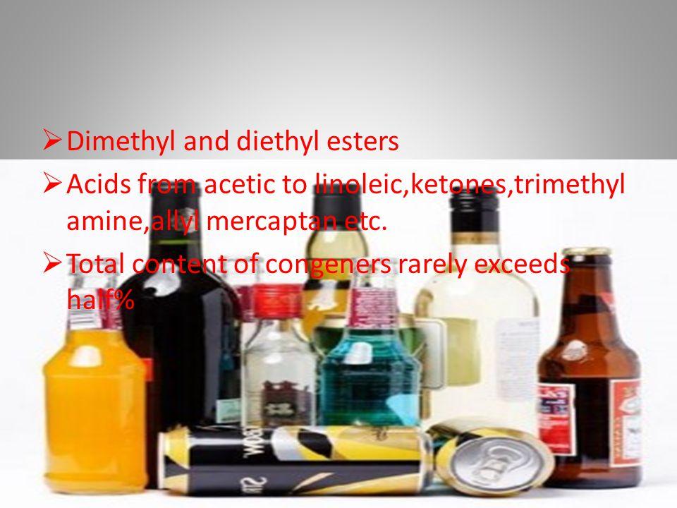 Dimethyl and diethyl esters
