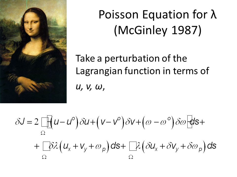 Poisson Equation for λ (McGinley 1987)
