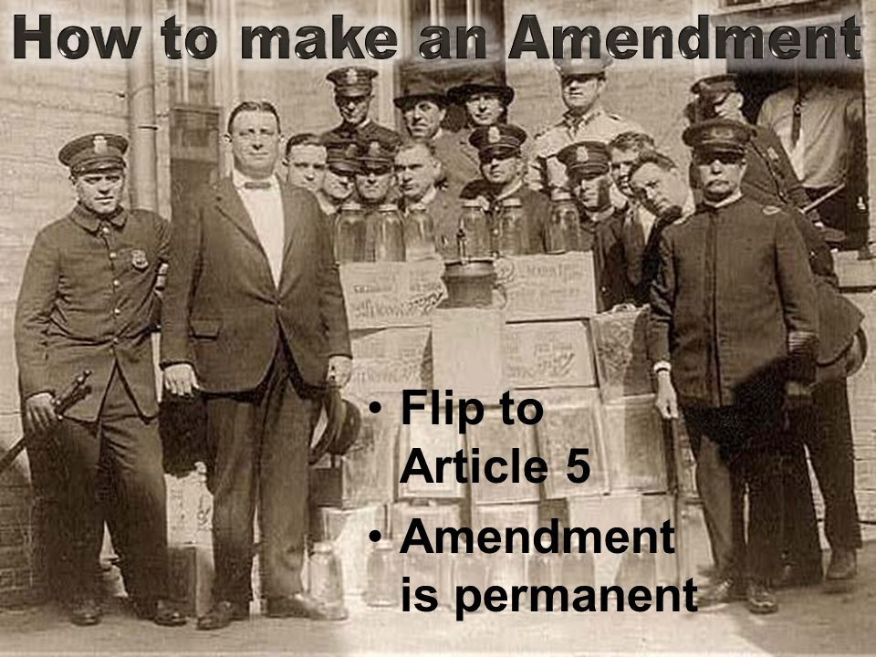 Amendment is permanent