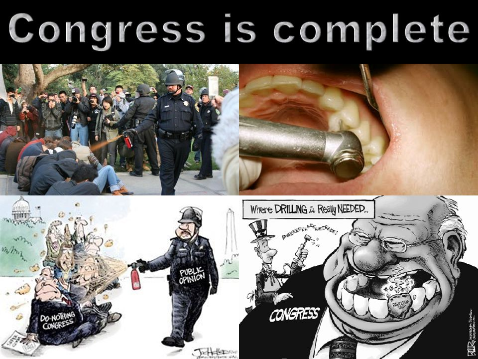 Congress is complete