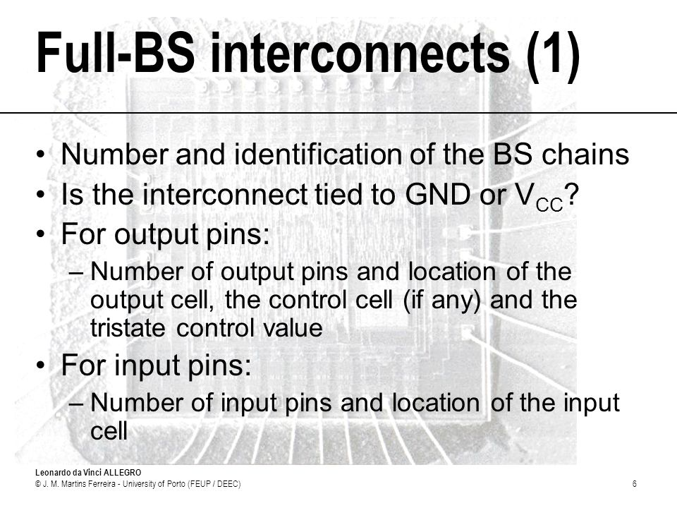 Full-BS interconnects (1)