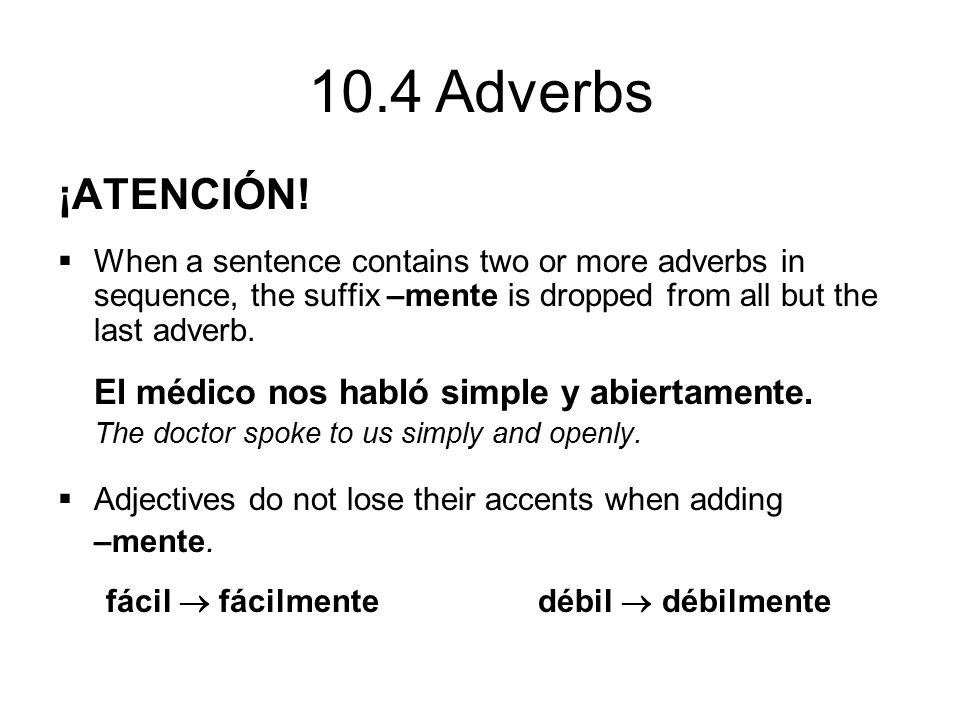 ¡ATENCIÓN! El médico nos habló simple y abiertamente.
