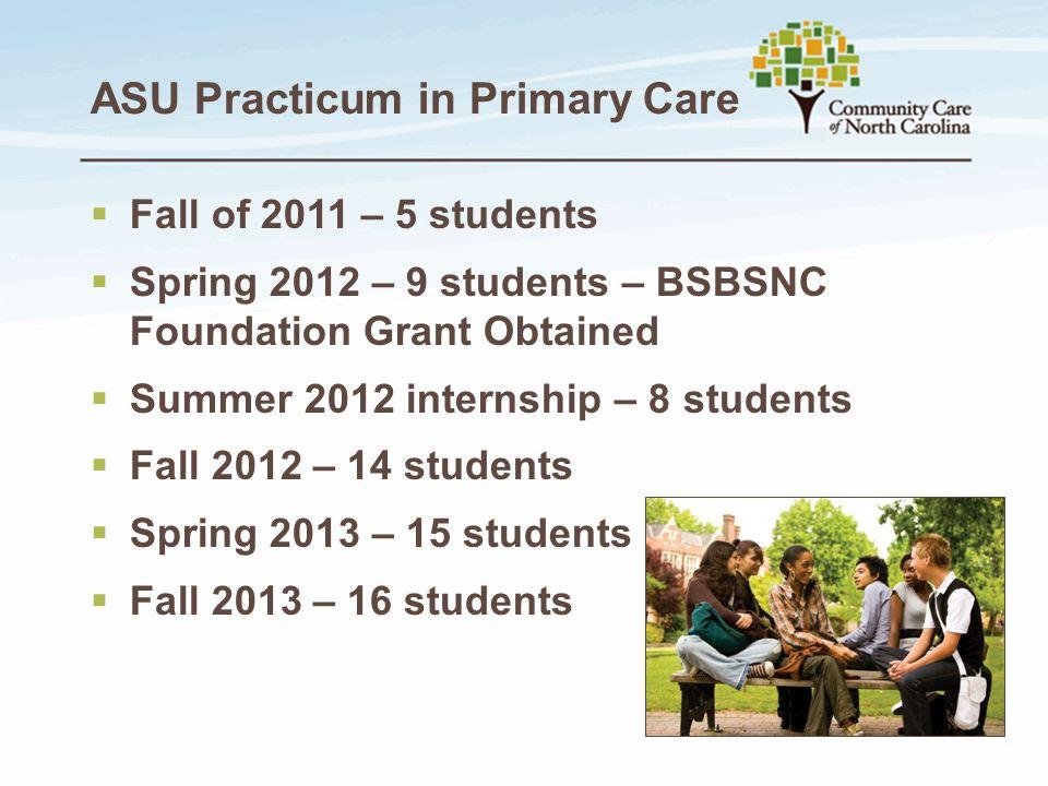 ASU Practicum in Primary Care