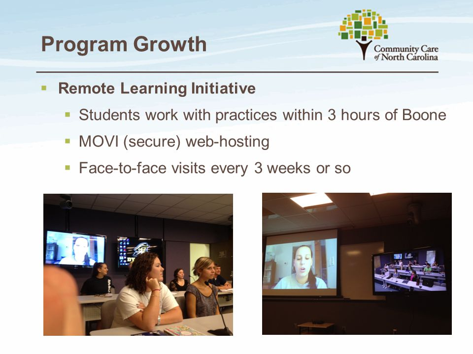 Program Growth Remote Learning Initiative