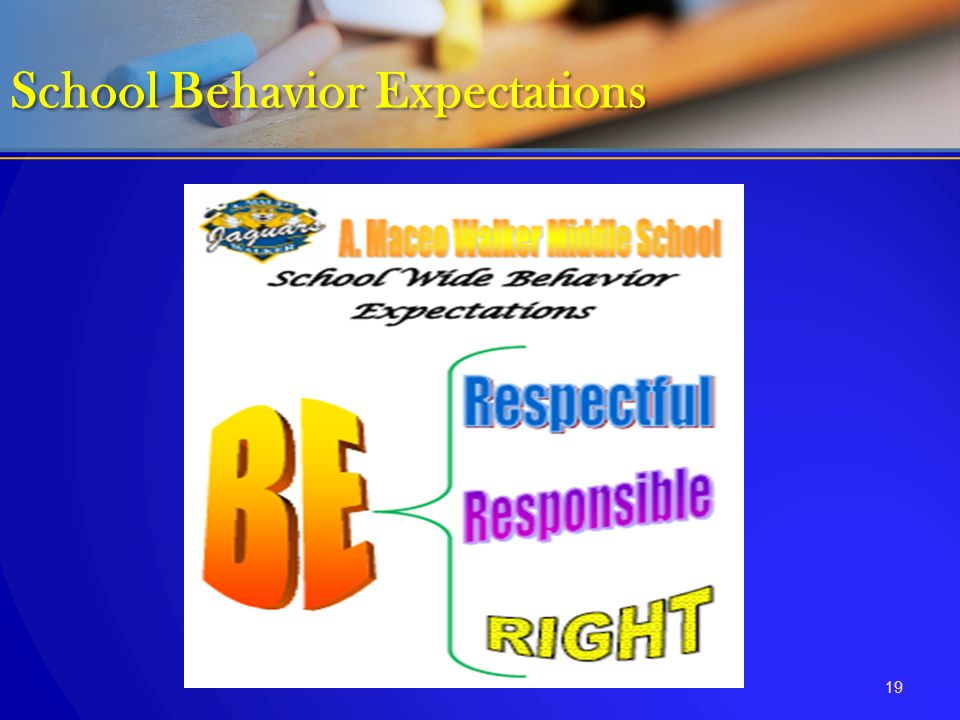 School Behavior Expectations