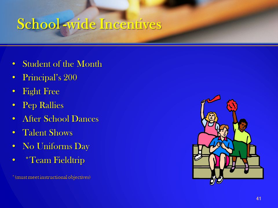 School -wide Incentives