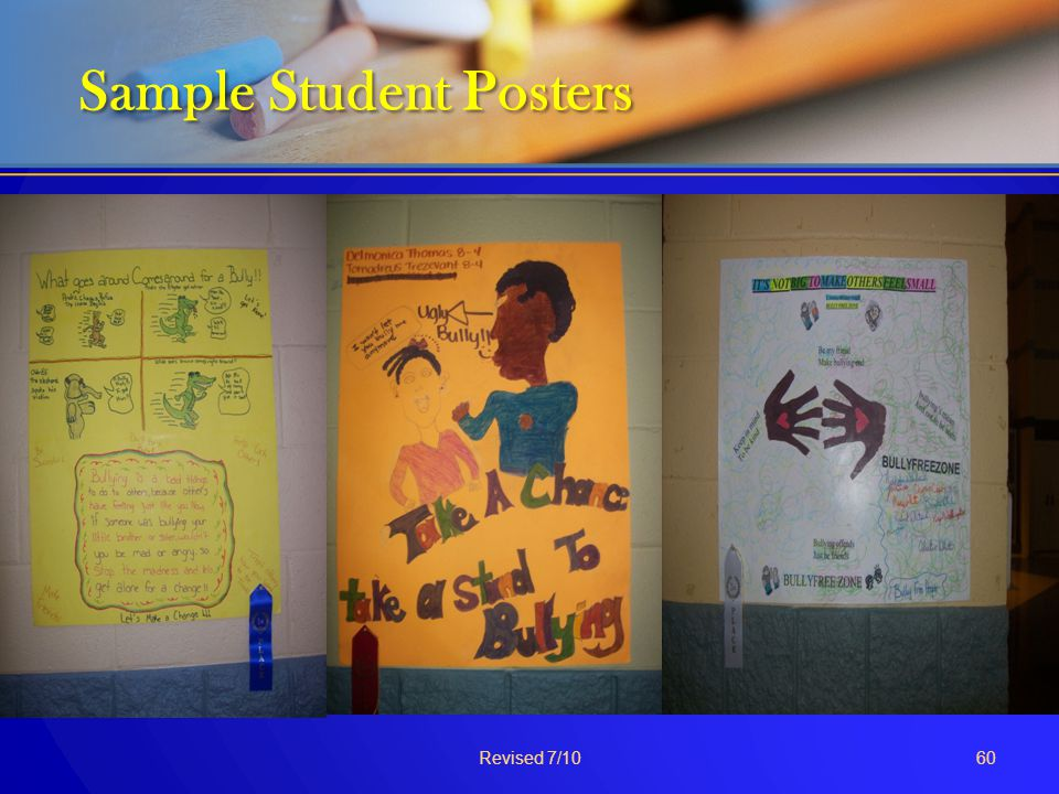 Sample Student Posters