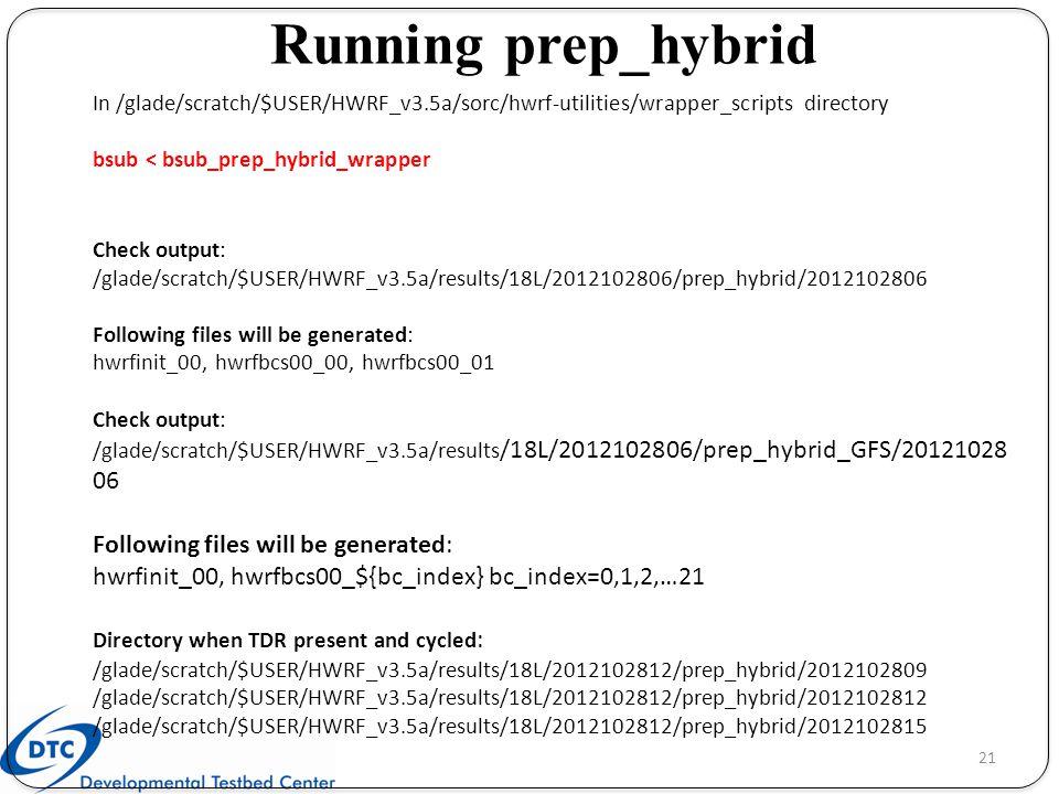 Running prep_hybrid In /glade/scratch/$USER/HWRF_v3.5a/sorc/hwrf-utilities/wrapper_scripts directory.