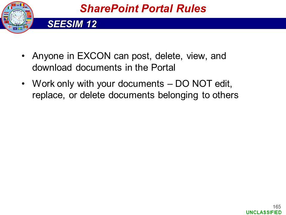 SharePoint Portal Rules