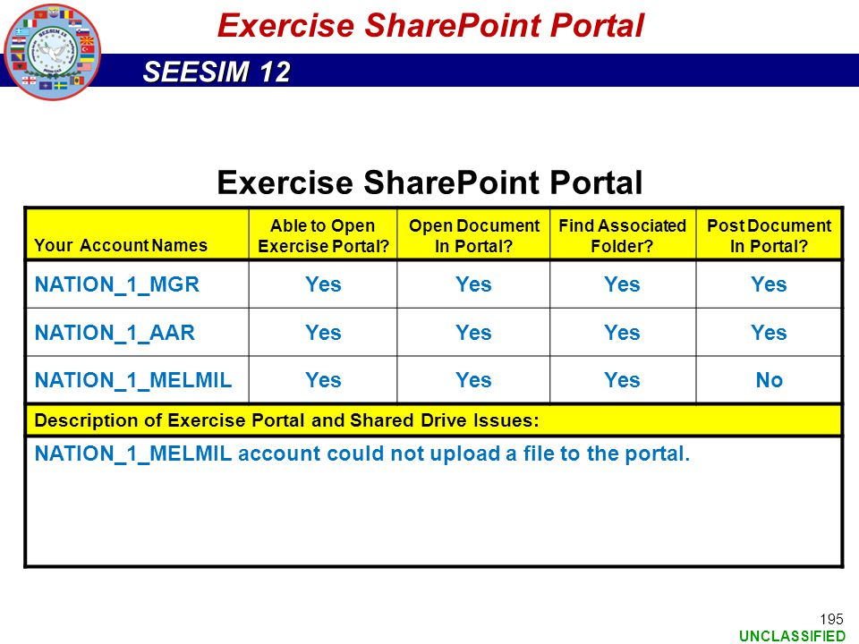 Exercise SharePoint Portal