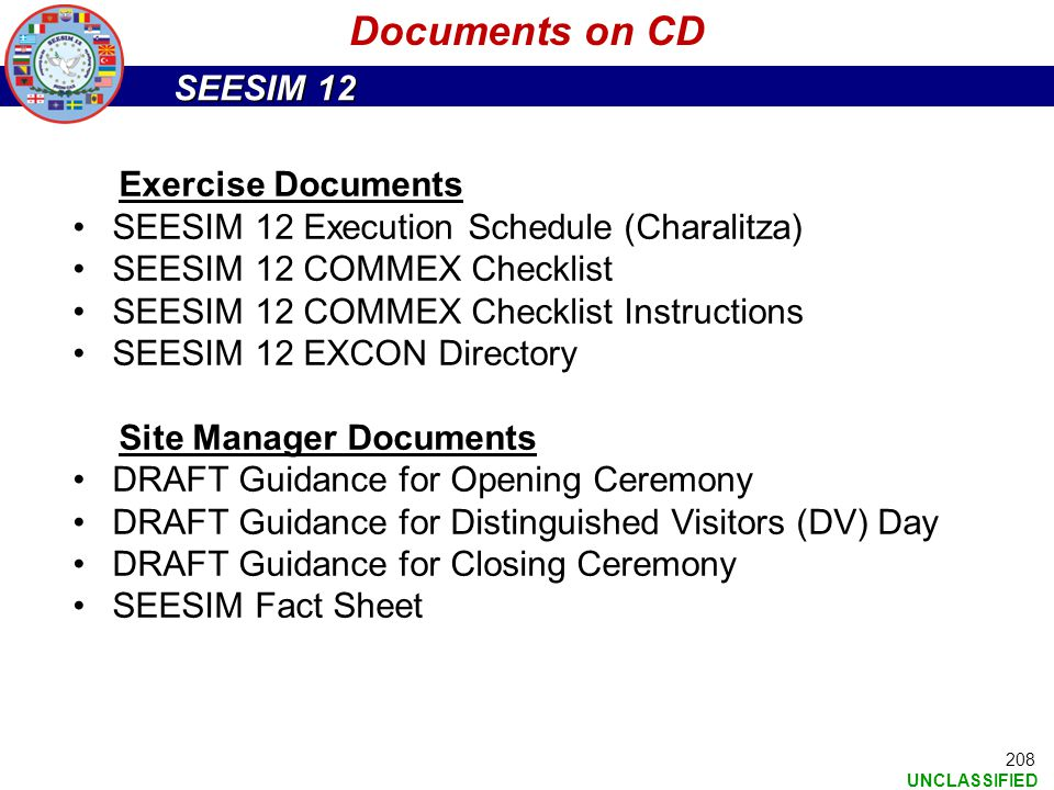Documents on CD Exercise Documents