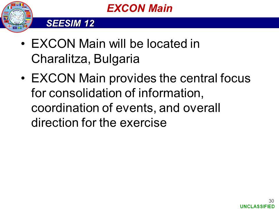 EXCON Main will be located in Charalitza, Bulgaria