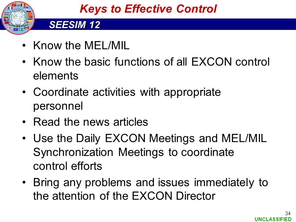 Keys to Effective Control