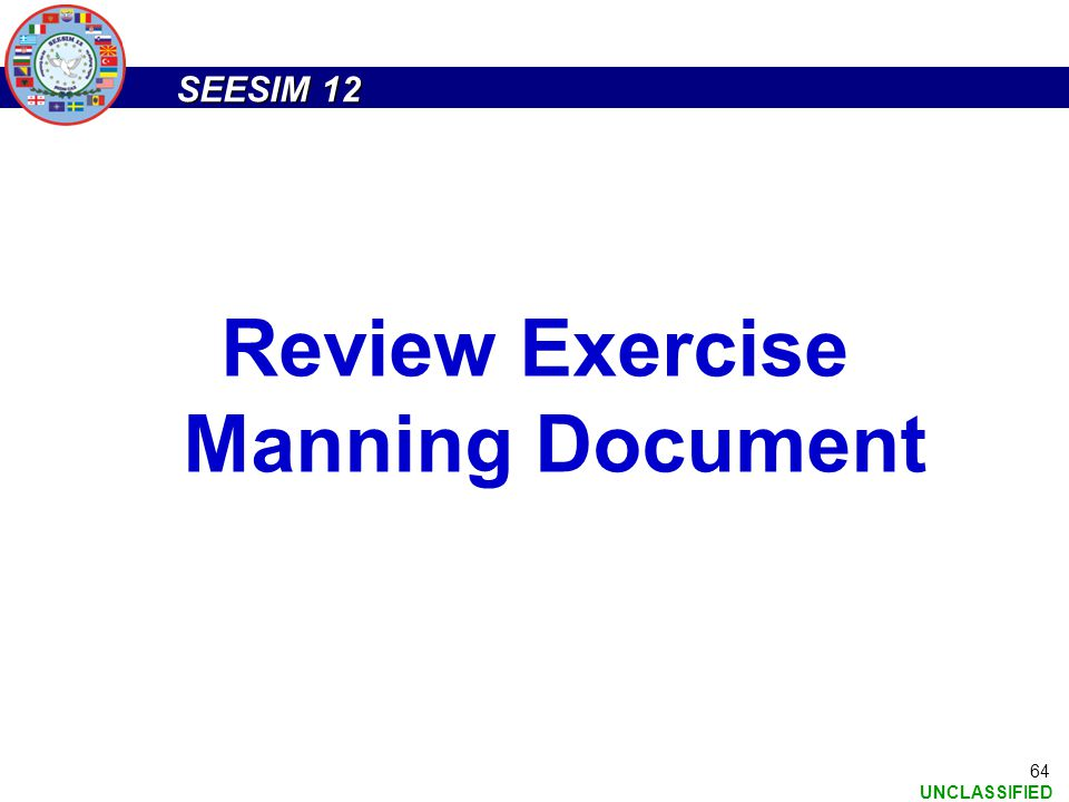Review Exercise Manning Document