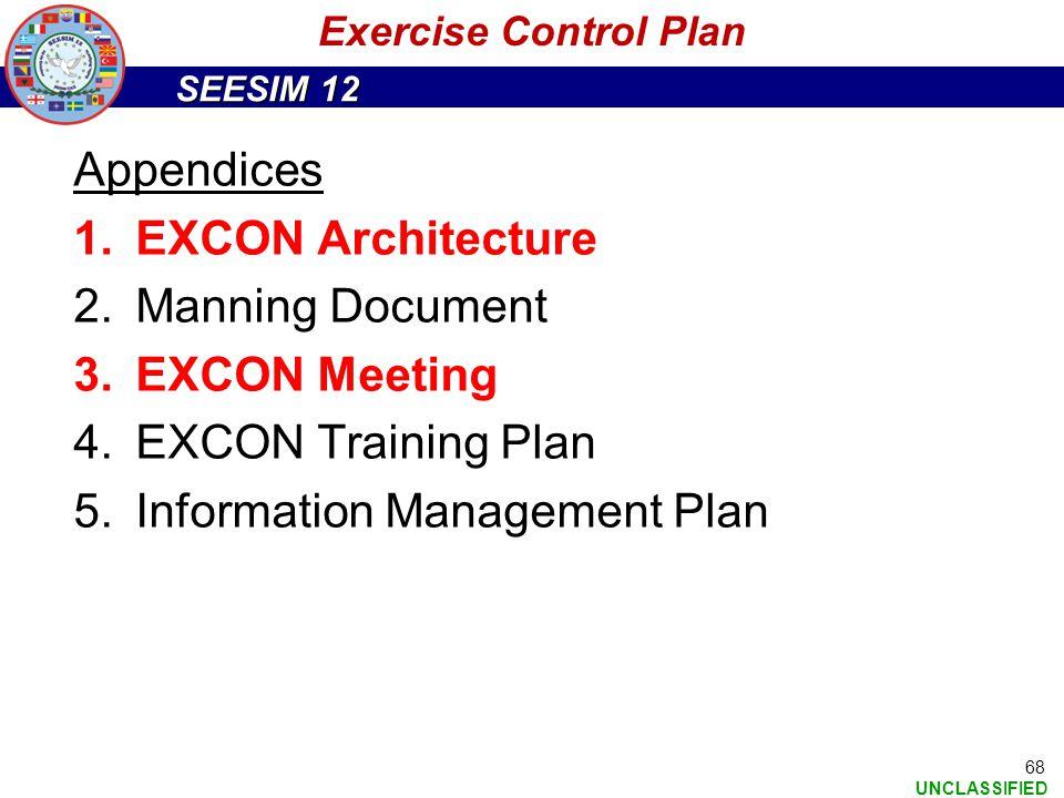 Information Management Plan