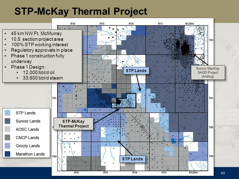 STP-McKay Thermal Project