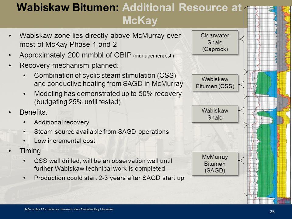 Wabiskaw Bitumen: Additional Resource at McKay