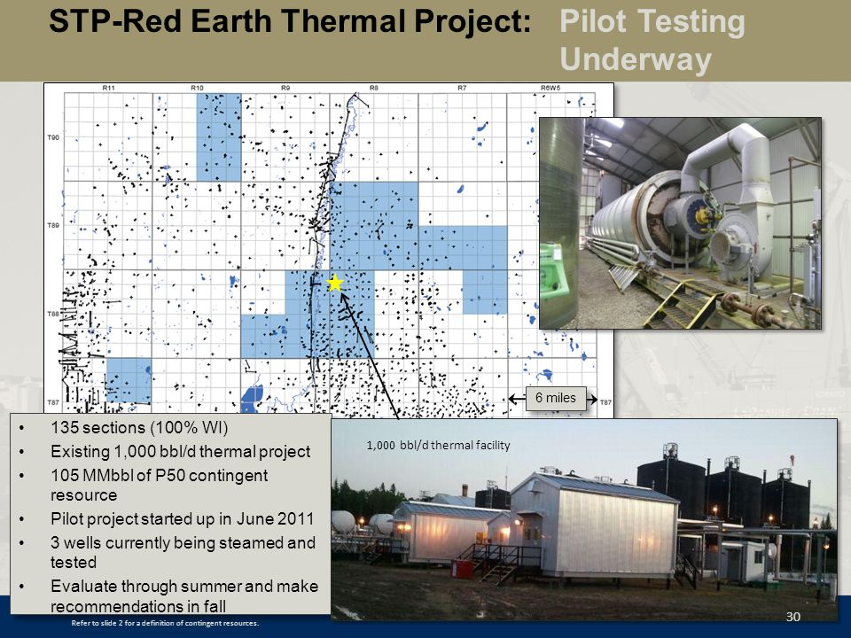 STP-Red Earth Thermal Project: Pilot Testing Underway