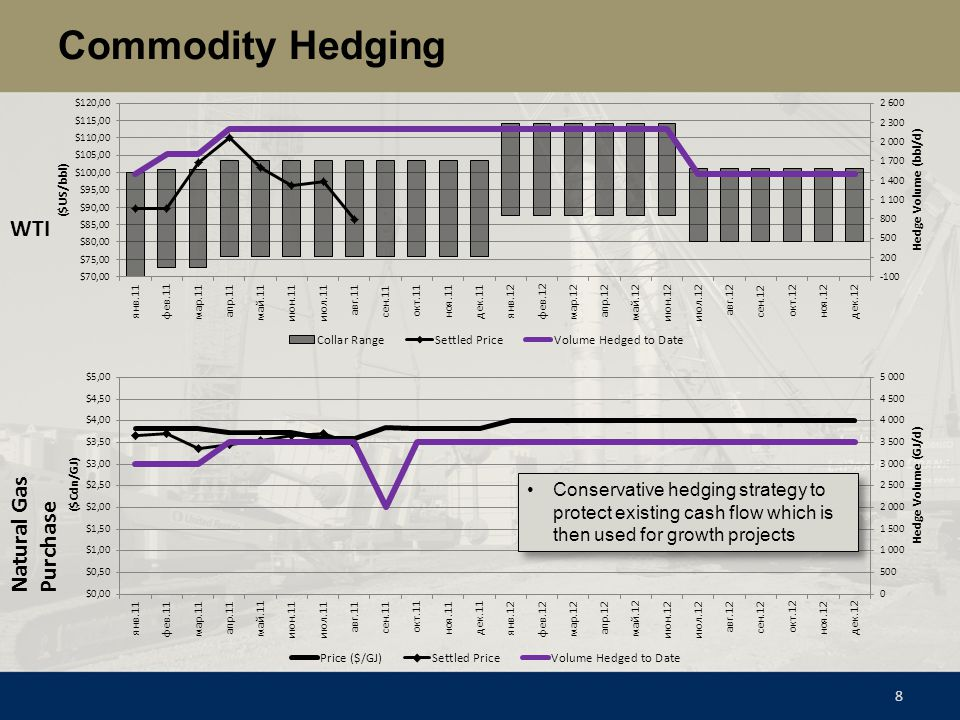 Commodity Hedging WTI Natural Gas Purchase