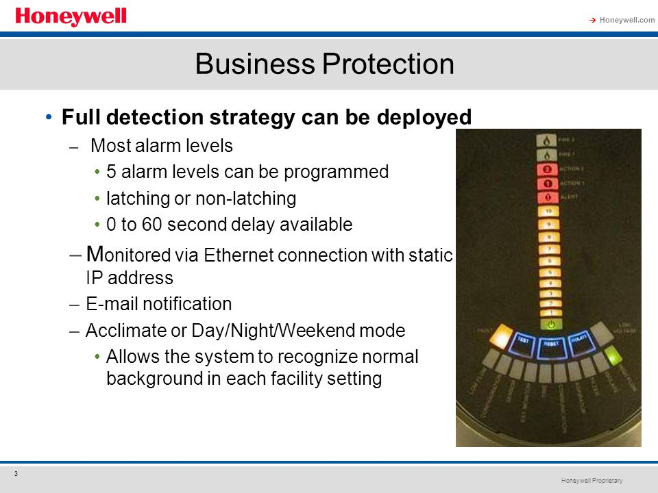 Business Protection Full detection strategy can be deployed