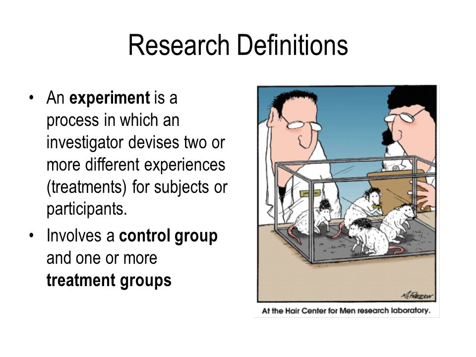 Research Definitions
