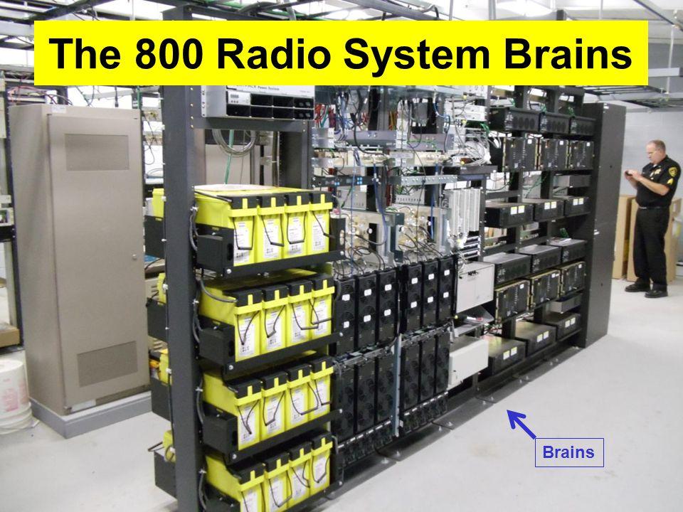 The 800 Radio System Brains