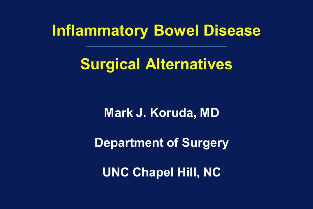 Inflammatory Bowel Disease Surgical Alternatives