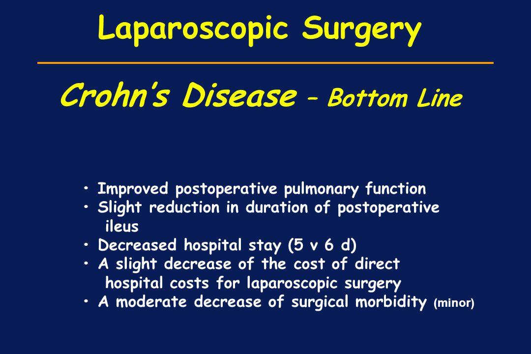 Laparoscopic Surgery Crohn's Disease – Bottom Line