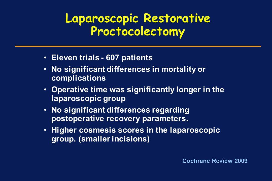 Laparoscopic Restorative Proctocolectomy