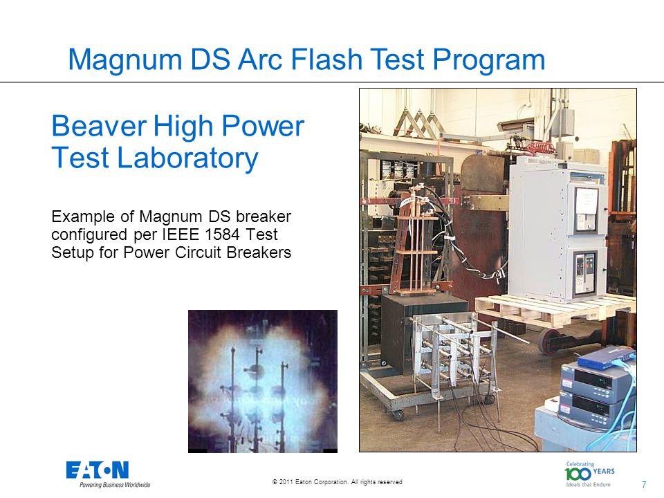 Magnum DS Arc Flash Test Program