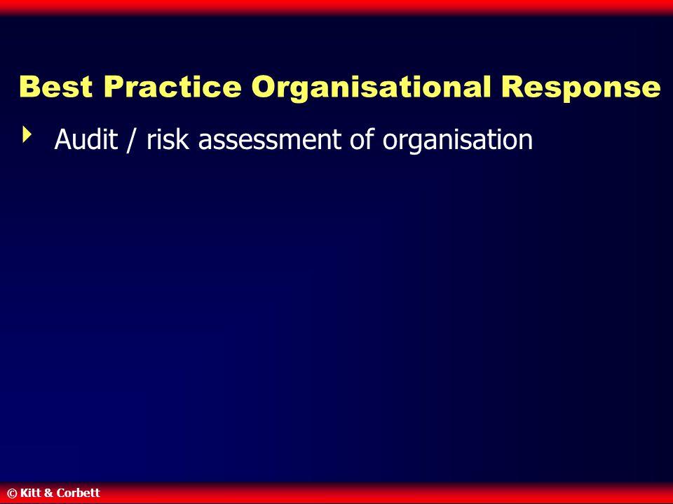 Best Practice Organisational Response