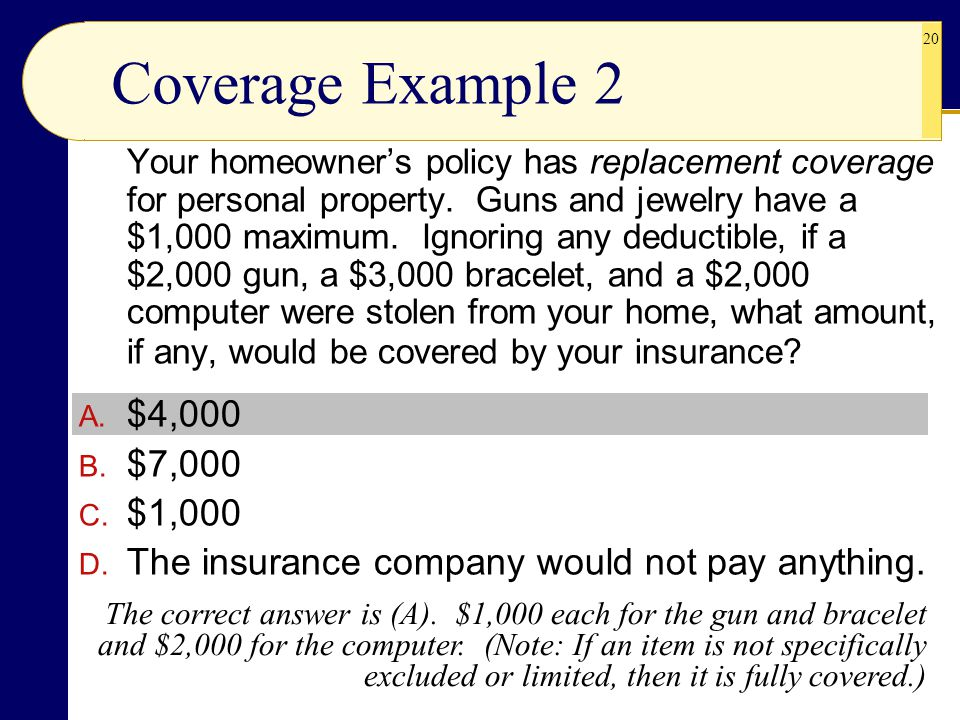 Coverage Example 2