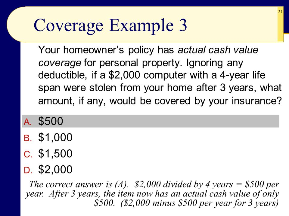 Coverage Example 3