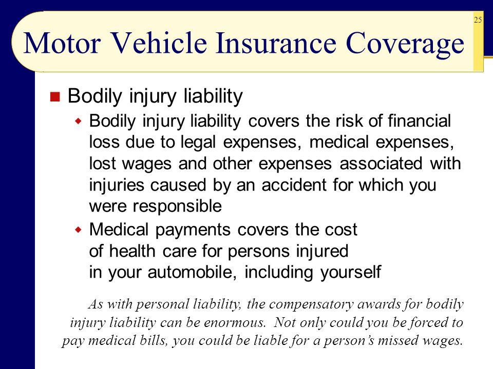 Motor Vehicle Insurance Coverage