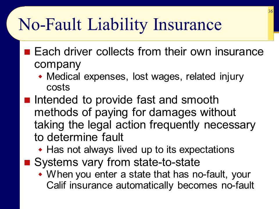 No-Fault Liability Insurance