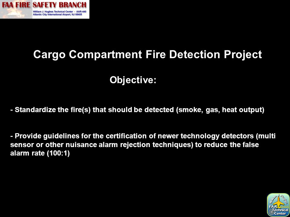 Cargo Compartment Fire Detection Project