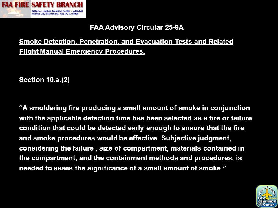 FAA Advisory Circular 25-9A