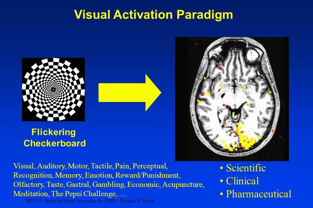 Visual Activation Paradigm