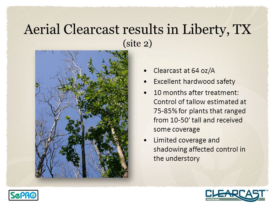 Aerial Clearcast results in Liberty, TX (site 2)